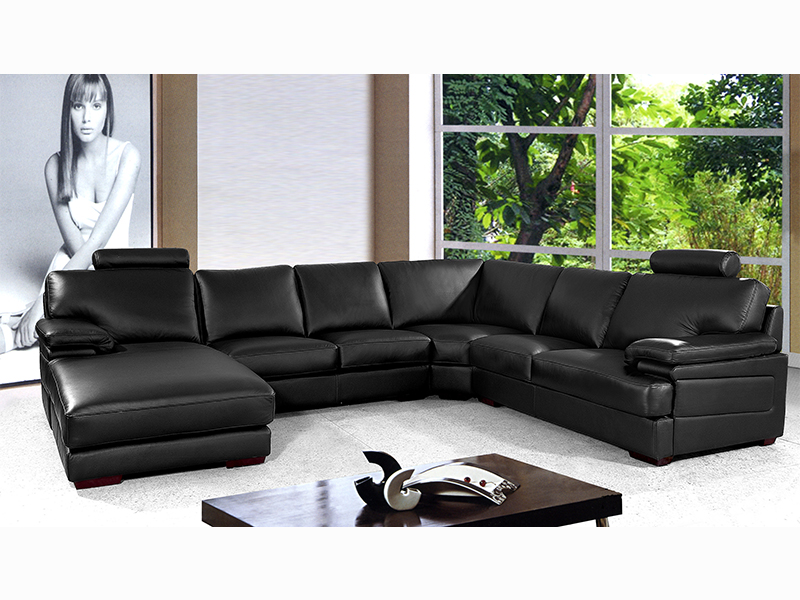 xxl ecksofa adriano eckcouch von salottini leder wohnlandschaft sofagarnitur kaufen bei. Black Bedroom Furniture Sets. Home Design Ideas