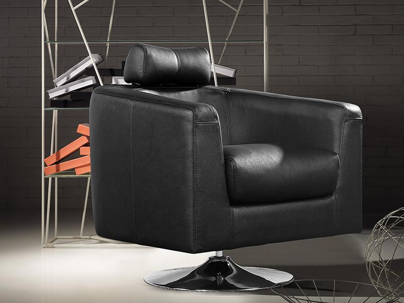 salottini 1er designer sessel aurora ledersessel relaxsessel uvp ebay. Black Bedroom Furniture Sets. Home Design Ideas