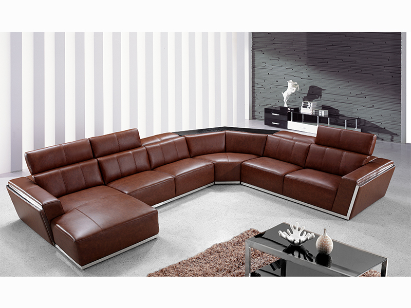 xxl ecksofa fabiano eckcouch von salottini leder. Black Bedroom Furniture Sets. Home Design Ideas