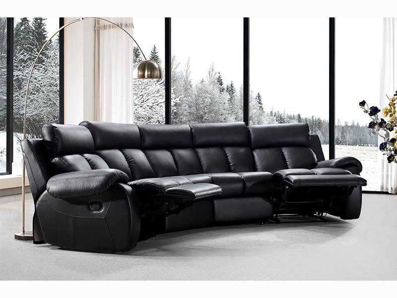 recliner kinosofa pedro leder salottini rundsofa toppreis. Black Bedroom Furniture Sets. Home Design Ideas