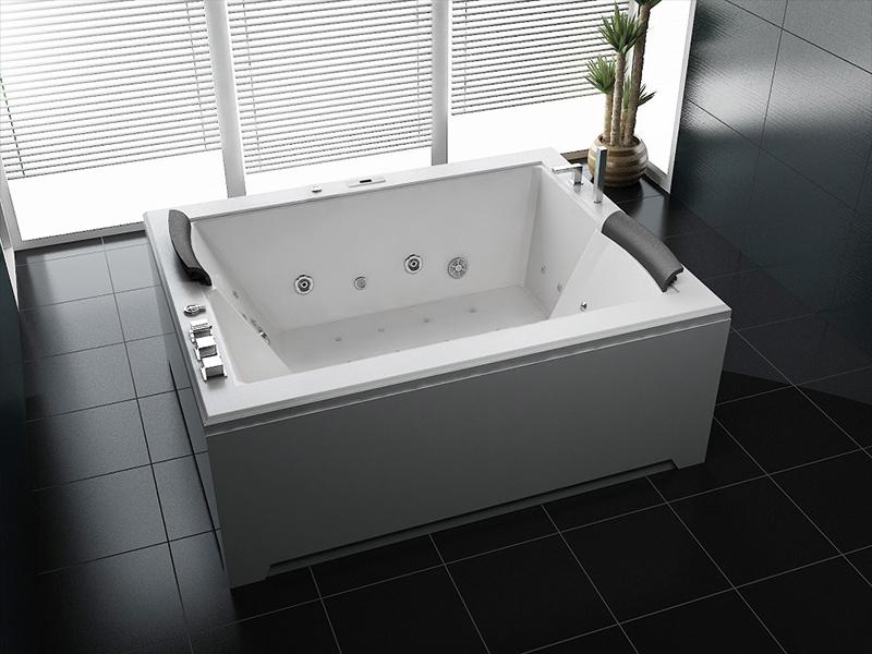 2 personen xl whirlpool california 180x141 32 d sen badewanne uvp sofort kaufen bei. Black Bedroom Furniture Sets. Home Design Ideas