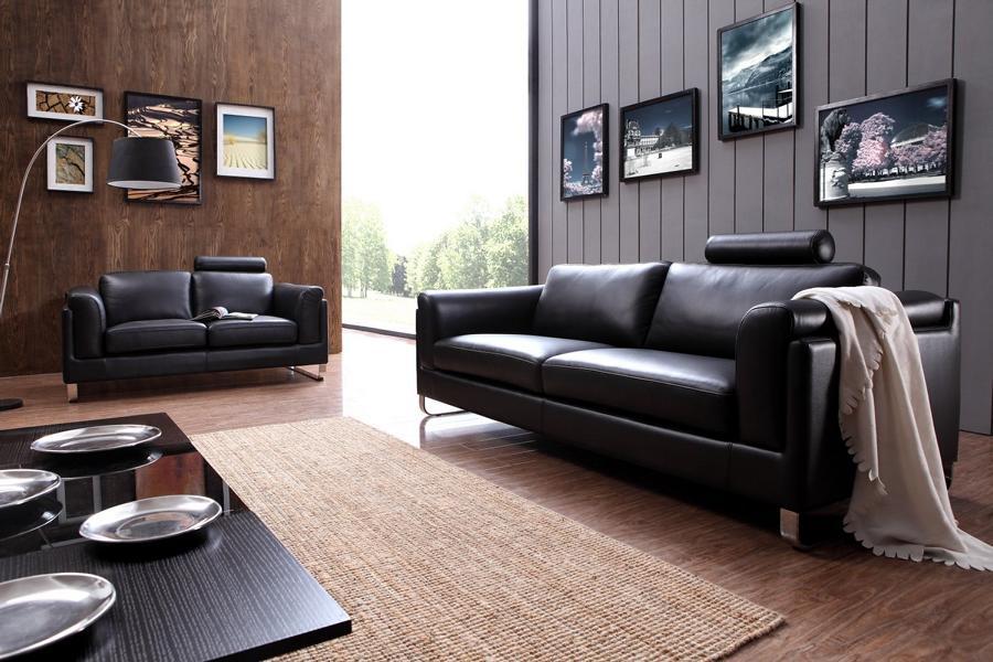 sofagarnitur barletta 3 2 1 leder polstergarnitur von salottini wohnwelten24h wohnwelten24h. Black Bedroom Furniture Sets. Home Design Ideas